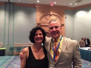 Jim and author/speaker Nancy Levin
